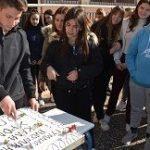 30/1/2020 – Η κοπή της πρωτοχρονιάτικης πίτας του Σχολείου μας για το 2020!