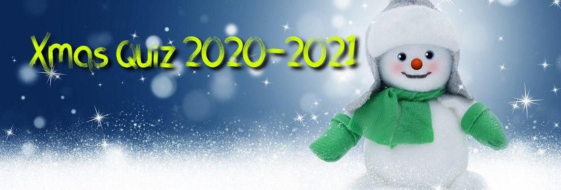 Χριστουγεννιάτικο quiz 2020-2021
